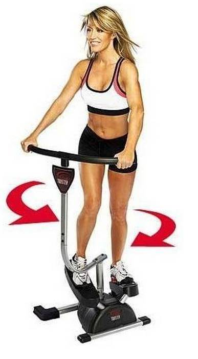 кардио твистер группы мышц